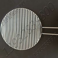 Stainless Steel Pole Rod or Groove slot Round Welded Reusable BBQ Grill