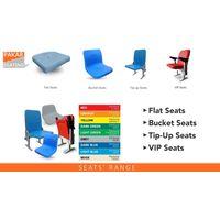 FLAT STADIUM SEAT TZY-4