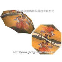 oil painting umbrella