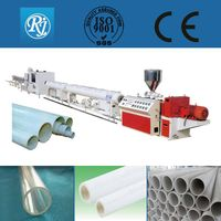 PVC plastic pipe machinery CE,ISO