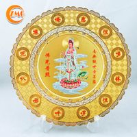 high quality religious souvenir gifts personalized metal tray honored plate thumbnail image