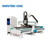 4x8 ATC Cnc Router Wood Carving Machine With Automatic Tool Changer thumbnail image
