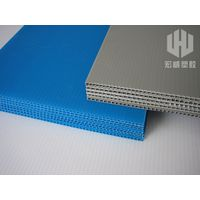 Printable PP plastic corrugated sheet