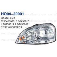 Chevrolet/Daewoo/Opel Nubira 2003/Optra 2003/Lacetti Head Lamp(96458820/96458810 96458819/96458809)