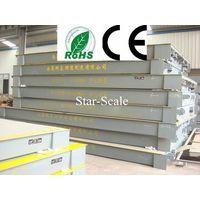 U-steel bridge weighing scales