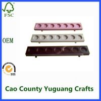 Wooden Candle Holder for Wholesale