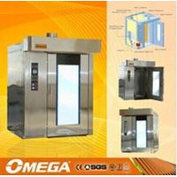 Stainless Steel Commercial Baking Equipment Bakery Room Rotary Oven