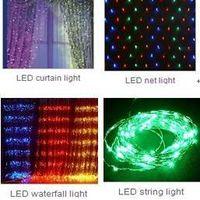 LED Christmas--curtain / net / waterfall light thumbnail image
