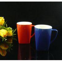 Stoneware glaze coffee mug