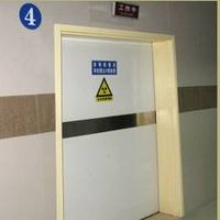 automatic sliding x-ray doors
