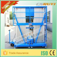 Electric aluminum lift platform