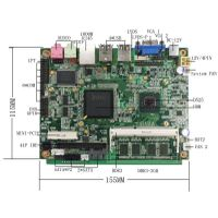Fanless Atom Motherboard industrial N550 Processor Motherboard thumbnail image