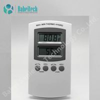 Indoor Industrial Thermometer with Hygrometer thumbnail image
