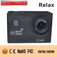 2.0Inch display FHD 1080P Sports camera Wifi Ski Sports camera
