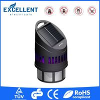 Rechargeable mosquito killer lamp solar insect killer with fan