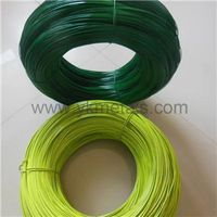 PVC Coated Wire     pvc coated chicken wire   plastic coated chicken wire