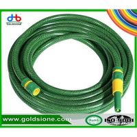Colored Flexible PVC Garden Hose With Polyester Reinforcement PVC Garden Water Hose PVC Pipe Garden