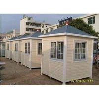 China mobile house steel structure sentry box