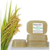 Natural Organic Skin Care Handmade Rice Bran Soap
