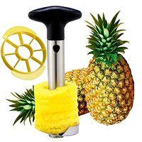 pineapple corer and slicer amazon best Stainless Steel pineapple peeler cutter Easy
