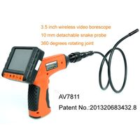 3.5 inch screen 90 degrees side view video borescope