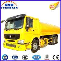 20000liters 6silos Carbon Steel Gasoling/Diesel 6*4 Tanker Truck for Phillippines Market