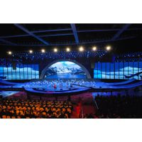 Kingview Indoor Outdoor HD Rental Event Stage Curved LED Displays Screens Cabinets P5/6