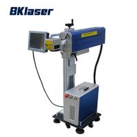 Online flying co2 laser marking machine for pet bottles thumbnail image