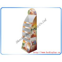 Floor paper stand shelves for chips
