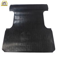 Auto Parts ODM OEM Cargo Floor Mat Factory Heavy Duty All Weather Rubber Pick Up Truck Bed Mat for T