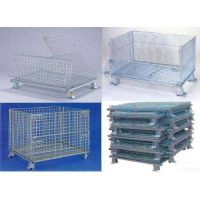 storage cage /galvanized wrie mesh container