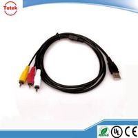 RCA audio cable for speaker