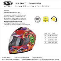 new design motorcycle helmet DOT/ECE proved 2018