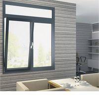 Aluminium bi folding window