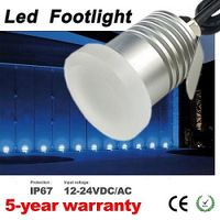 Mini Led Moonlight Footlights Dimmable IP67 Wall Floor Deck Corner Light garden landscape light