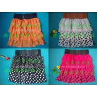 Sexy Stretch Candy Colours Mini Skirt with Side Free Size Short Skirts Ladies Skirts thumbnail image