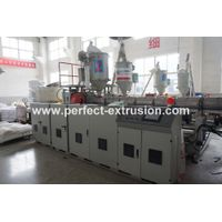 PP Hollow Grid Board Production Line, Plastic Hollow Grid Plate Extruder Machine