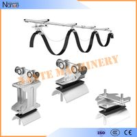 C-Track Festoon System Stainless Steel with Accessories