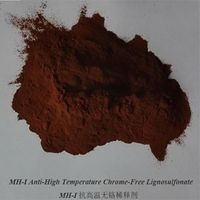 MH-I Anti high temperature Chrome Free Lignosulfonate with Patent of Invention