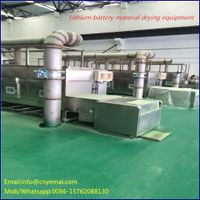 60kw High efficiency lithium battery material drying equipment