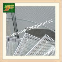 High quality and best selling low carbon galvanized expanded metal mesh panel thumbnail image