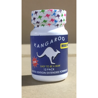 Kangaroo Sex Pills for Men Mega 3000 12Pc Bottle