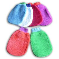Microfiber Cleaning Gloves (coral-like plush car-washer) thumbnail image