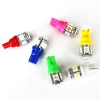 Car-Styling Modified Led Lights T10 5050 5SMD Lamp License Plate Reading Lamp Led Bulb Wide Angle