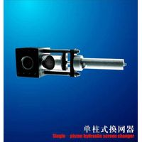 single-piston hydraulic screen changer