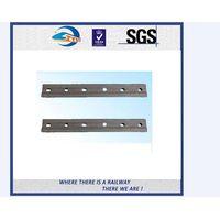 ZhongYue Plain Surface 6 Holes Rail Joint Bar Railroad Fish Plate For UIC60 UIC54 Steel Rail thumbnail image