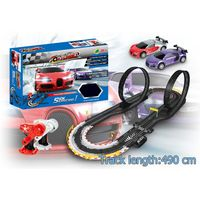Soba toys factory 1:43 fast track toys racing car multichannel speed spinning cars plastic toys
