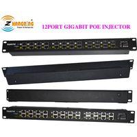 12port gigabit passive POE injector module