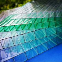 multi wall Polycarbonate Greenhouse Panels in varying levels of thickness