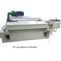 CNC wood log rounder 4ft debarker machine thumbnail image